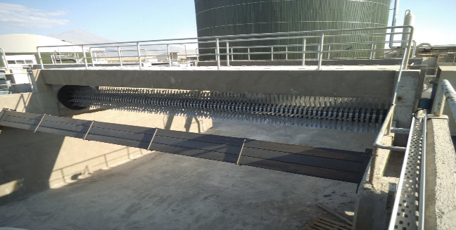 Waste water surface aeration